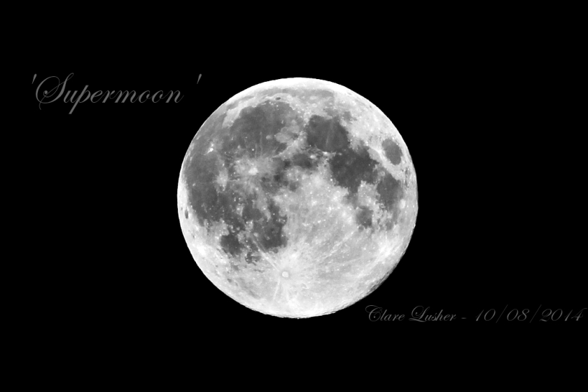 August 10th 2014 Supermoon